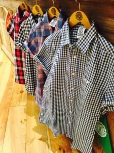 hunged shirts