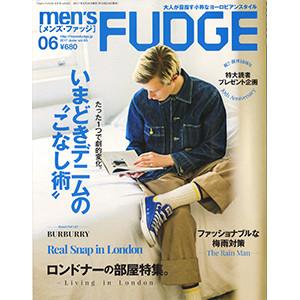 men'sFUDGE6月号424ND表紙