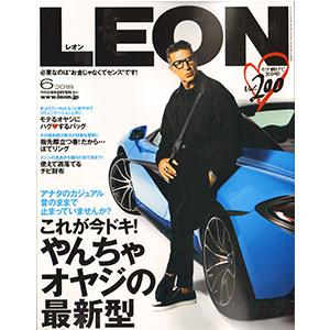 LEON 表紙HP